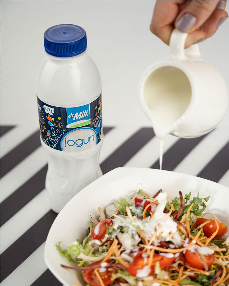 Recept za luskuznu salatu sa dr Milk jogurtom