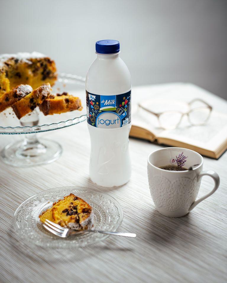 Recept za kuglof sa Dr Milk jogurtom